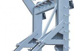重力倒臂式吊艇架
