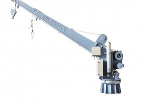 单臂救助艇/筏降放装置兼起重机